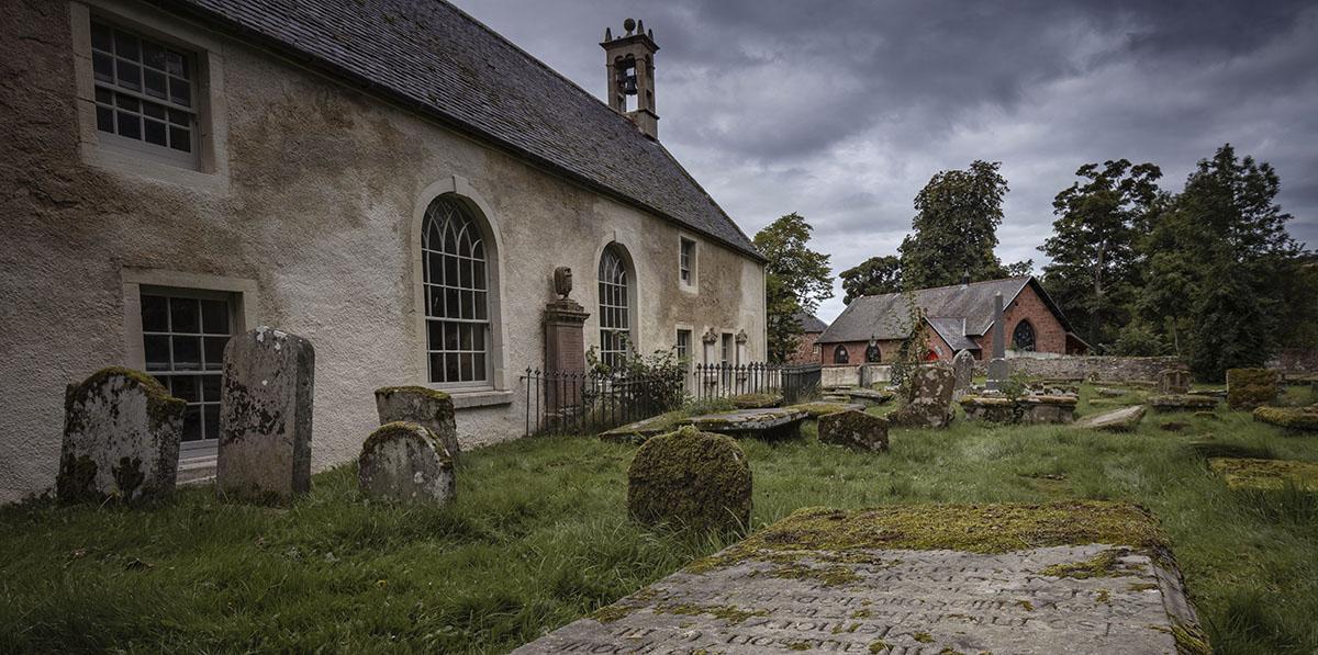 Cromarty church yard Scotland