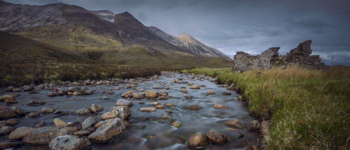 Glen Torridon and Ben Eighe scotland