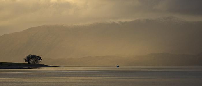 Loch Linnhe Boat Scotland