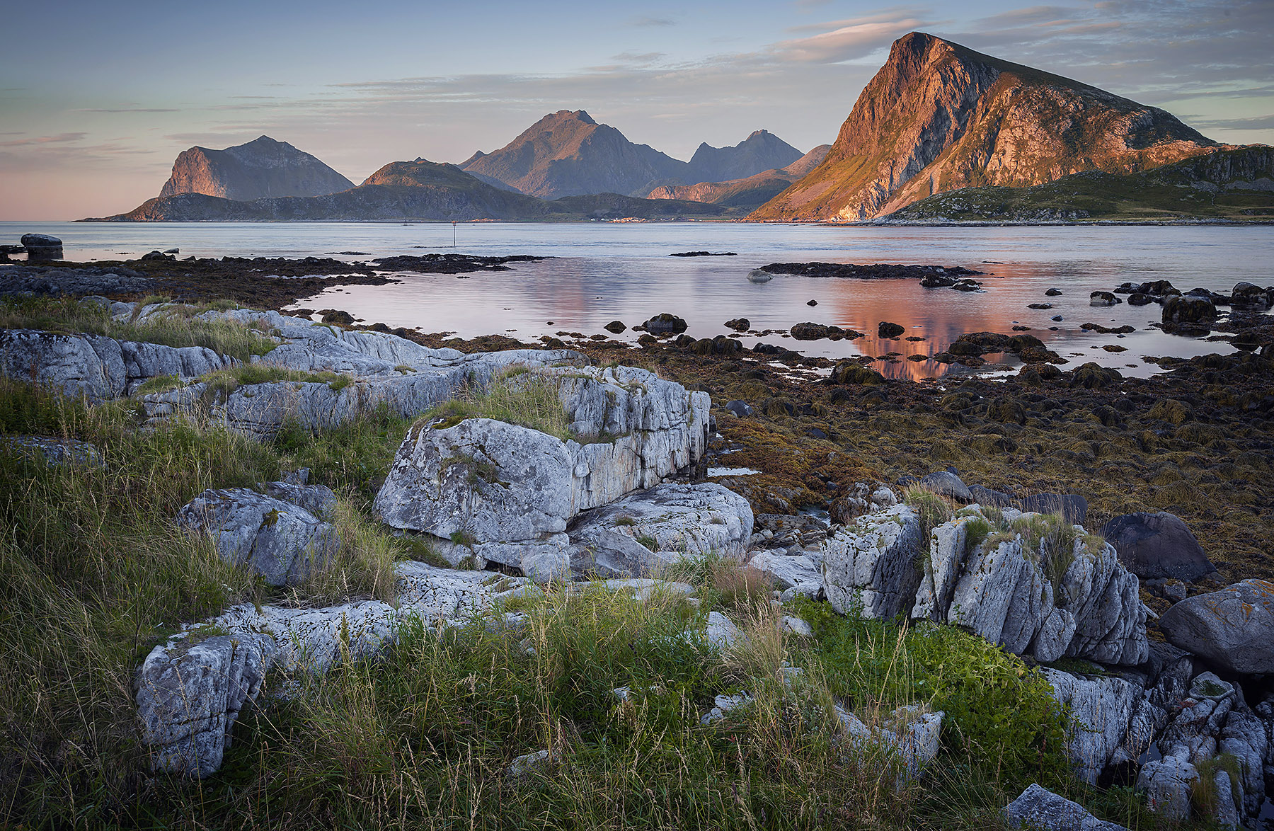 Norway Lofoten wide angle