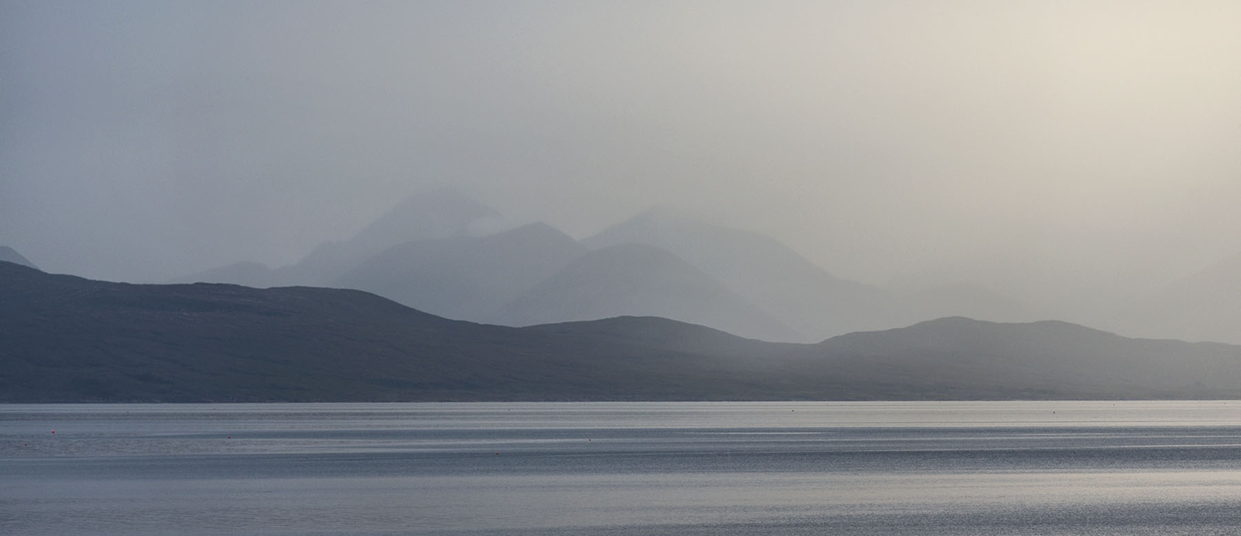 Skye Cuillin from Applecross NC500