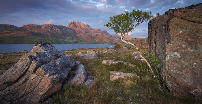 Loch Maree and Slioch Torridon Scotland photo tour