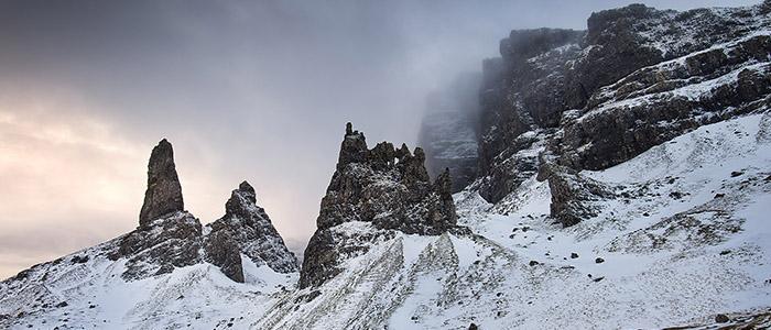 Storr winter Scotland