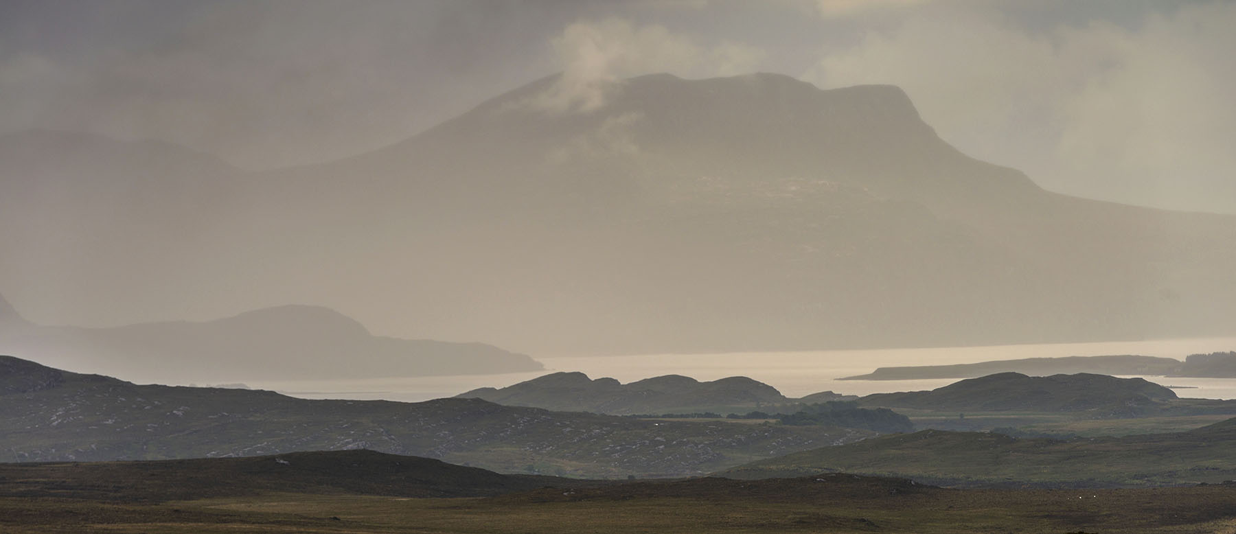 An Teallach from Inverpolly NC500