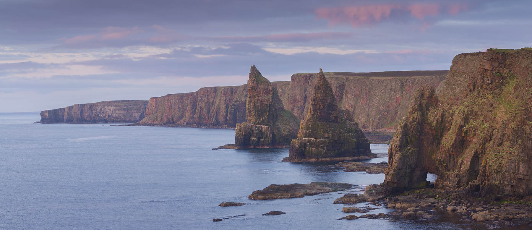 Duncasby stacks NC500