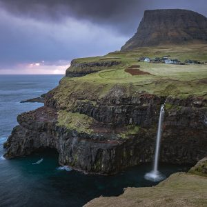 Mùlafossur Vagar Faroe Islands
